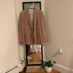 Pink Tweed Topshop Blazer